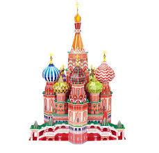 russische architektur russische architektur 3d bildungs spielzeug basilius kathedrale