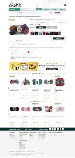 joann fabrics website jo s wool yarns in advertising