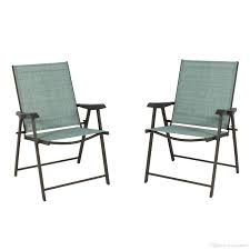 of 2 folding chairs sling bistro set outdoor patio furniture space