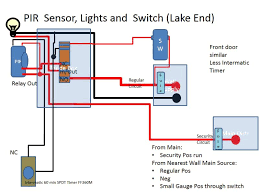 trying to make security motion lights a reality small cabin forum