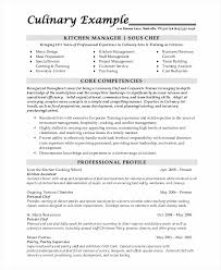 Culinary Resume Examples by Culinary Resume Examples Permanentwish Tk