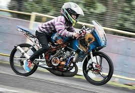 riska cibel u0026 denis kancil drag biker dijemput maut di usia muda