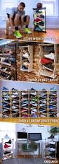 sole stacks display and store your shoes with love by jacob