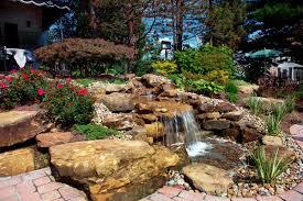 Backyard Pondless Waterfalls by Klein U0027s Lawn U0026 Landscaping Water Features Pondless Waterfalls