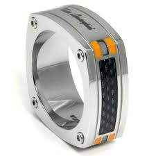 stainless steel mens rings lamborghini stainless steel men s rings spicytec