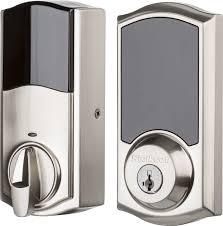 home designer pro hardware lock kwikset 919 premis bluetooth touchscreen smart lock gray 99190 001