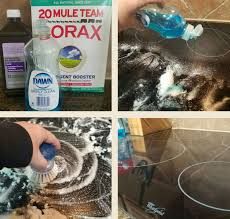 Rejuvenate Cooktop Cleaner Borax Solution Makes Cleaning Cooktops A Breeze At Home