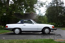 1988 mercedes benz 560 sl significant cars inc