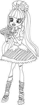 monster high coloring pages frights camera action charming draculaura sweet 1600 coloring pages pictures inspiration