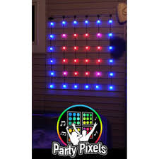 Party Lighting Christmas String Lights Warm White To Multi Color Led