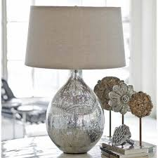 affordable mercury glass lamp home lighting insight