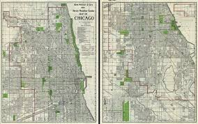 chicago map streets rand mcnally and co s new number guide map of chicago