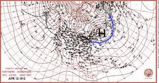 us weather map for april 10 30 am weather s impact on the sinking of the titanic