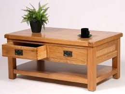 Two Drawer Coffee Table Coffee Table Drawers Coffee Table With Metal Drawers Image 1