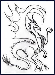 25 free printable dragon coloring pages free