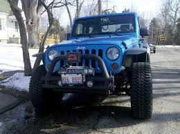 old tube bumpers on a jk