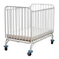 full size metal folding crib webstaurantstore