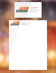 Business Card And Letterhead Project Branson Business Card U0026 Letterhead Digital Medium