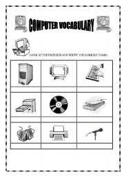 computer worksheets printables english worksheets computer