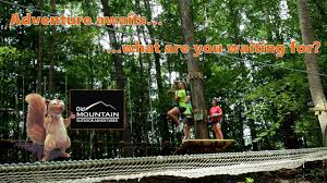 old mountain outdoor adventures treetop obstacle course and zip