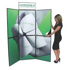 standup u0026 tabletop folding displays velcro u0026 fabric displays