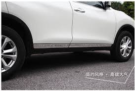 fit for 2014 2015 2016 for nissan rogue x trail t32 chrome door