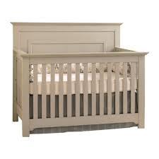 Crib Light Furniture Chesapeake Full Panel Crib Light Gray