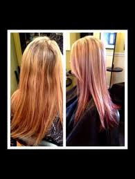 layred hairstyles eith high low lifhts copper blonde low lights sandy blonde high lights for the bestie