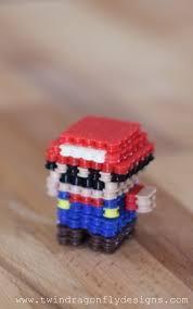 Halloween Perler Bead Templates by 3d Mario Perler Bead Craft Dragonfly Designs
