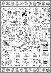 worksheet christmas puzzle