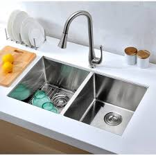 Hahn Chef Series  X  Double Bowl Undermount Kitchen Sink - Double bowl undermount kitchen sinks