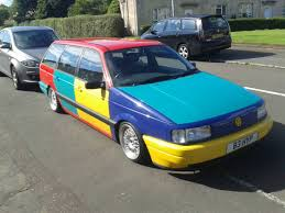 A Harlequin Passat Estate Automobiles Pinterest