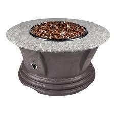 Granite Fire Pit by Etco Havana Iii Granite Cast Resin Propane Fire Pit Table Wayfair