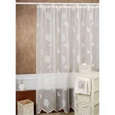 White Cotton Duck Shower Curtain Shower Curtain Cloth Cintinel Com