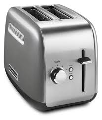 Red Kitchenaid Toasters Kitchenaid 2 Slice Toaster With Manual Lift Lever Contour Silver