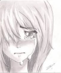 sketch of boy n crying together drawing of sketch
