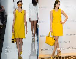 pace wu in michael kors michael kors chengdu store event red