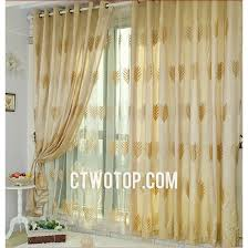 leaf modern simple affordable blackout ing curtains um size of curtain embroidered sheer curtains panels lengthembroidered india