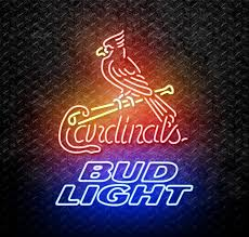 bud light neon signs for sale bud light mlb st louis cardinals neon sign for sale neonstation