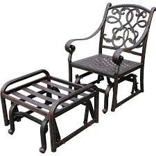 Hanamint Mayfair Patio Furniture by Glider Patio Chairs Photo Pixelmari Com