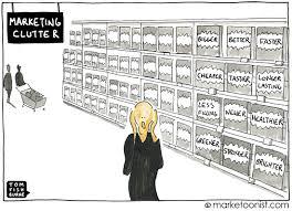 Clutter Marketing Clutter