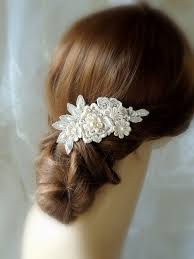 bridal hair clip wedding hair kylaza nardi