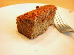 the voluptuous vegetarian banana cake vegan free of gluten