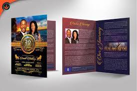 royal church anniversary program templa design bundles