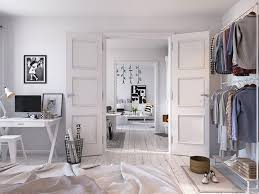 white home interiors designs by style doors in scandinavian home interior