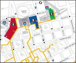 Map Of Mall Of America by Map Mall Of America And Parking Roundtripticket Me