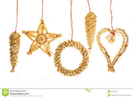 straw ornaments stock photo image of celebrate 46051580