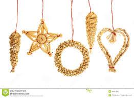 straw ornaments stock photo image of celebrate 46051580