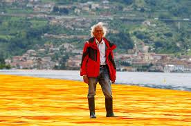 Floating Piers by Christo U0027s U0027floating Piers U0027 Artwork Lets People Walk Across A Lake