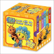 fifi flowertots pocket library learn
